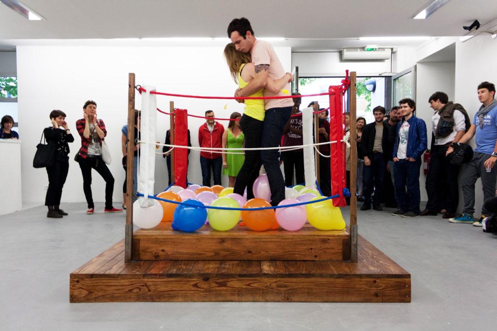 OPJ Cyganek et Julie Poulain, Les ballons, 2012