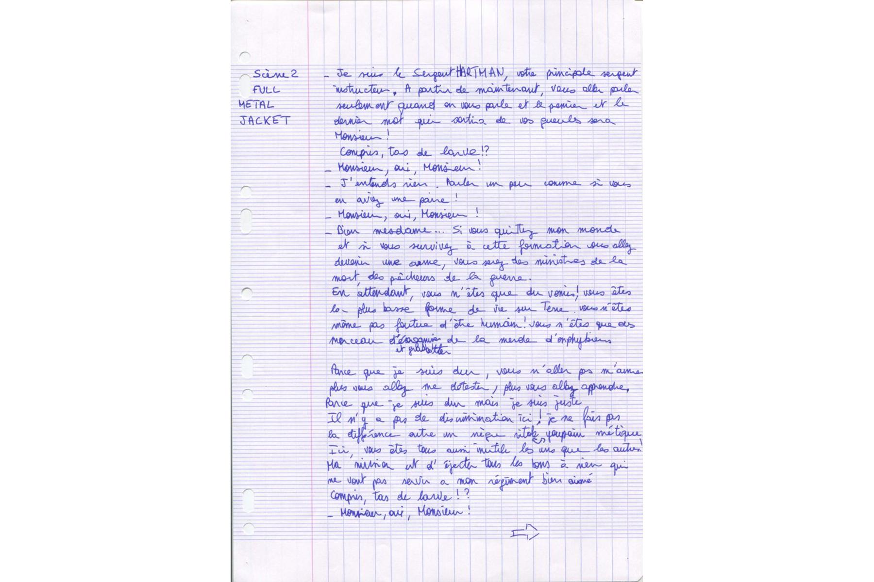 OPJ Cyganek et Julie Poulain, Les dictées, 2016