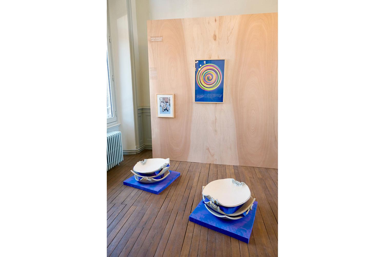vue du l'exposition Mimésis, Maison de l'habitat et du patrimoine, Saint-Flour
