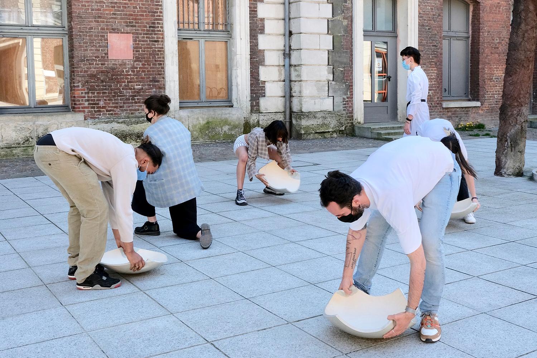 activation de la performance à l'école d'art du Beauvaisis
