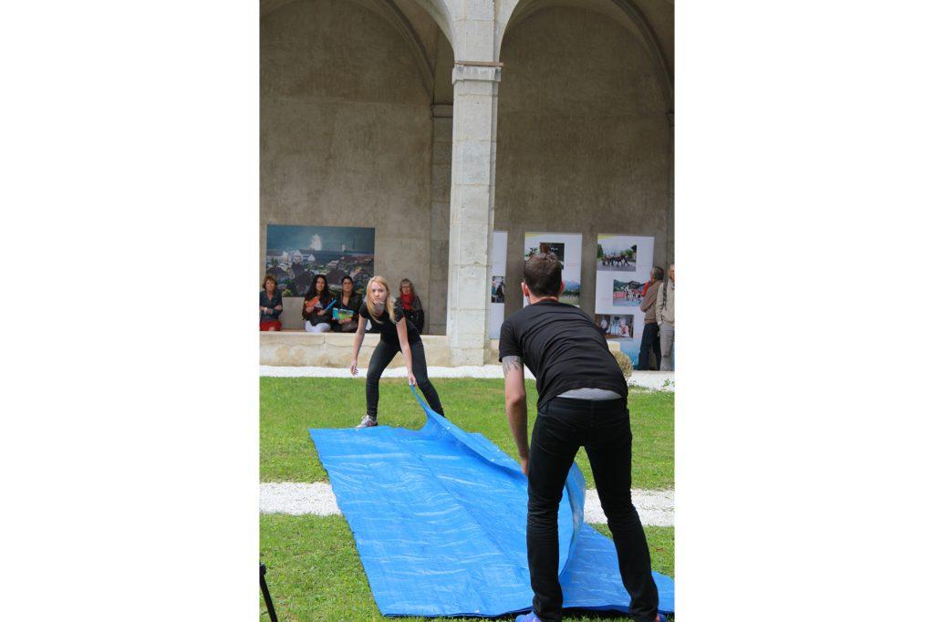 OPJ Cyganek et Julie Poulain, La fontaine, 2015