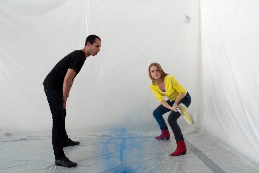OPJ Cyganek et Julie Poulain,L'œuf, 2011