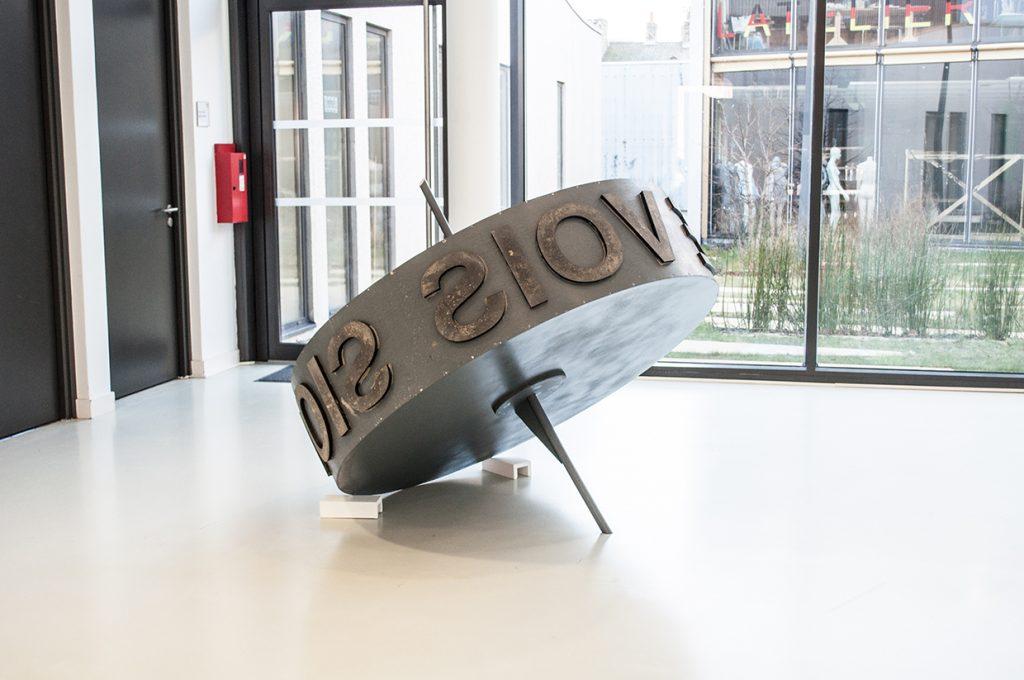 OPJ Cyganek et Julie Poulain, La roue, 2017